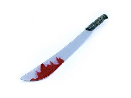 Mačeta s krví