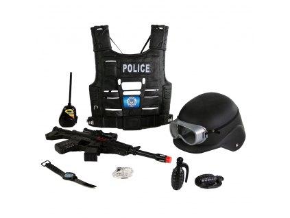 SWAT vesta policie s příslušenstvím