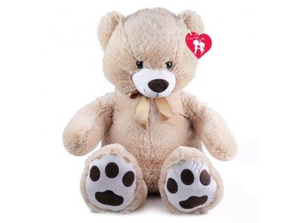 Velký plyšový medvěd Fido s visačkou, 100 cm