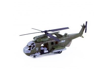 Vojenská helikoptéra se zvukem a světlem, 45 cm