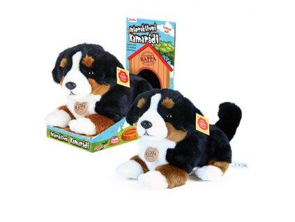 Pes Berny - plyšový interaktivní kamarád