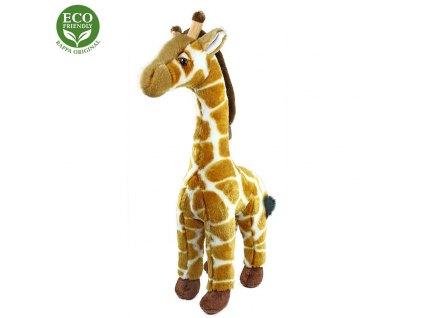 Plyšová žirafa stojíci, 40 cm, ECO-FRIENDLY