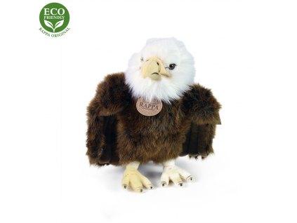 Plyšový pták orel stojící, 24 cm, ECO-FRIENDLY