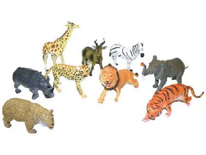 zvířata divoká 23 - 31 cm Tygr