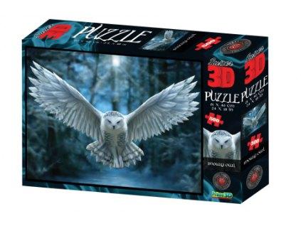 3D Puzzle Sova 500 dílků
