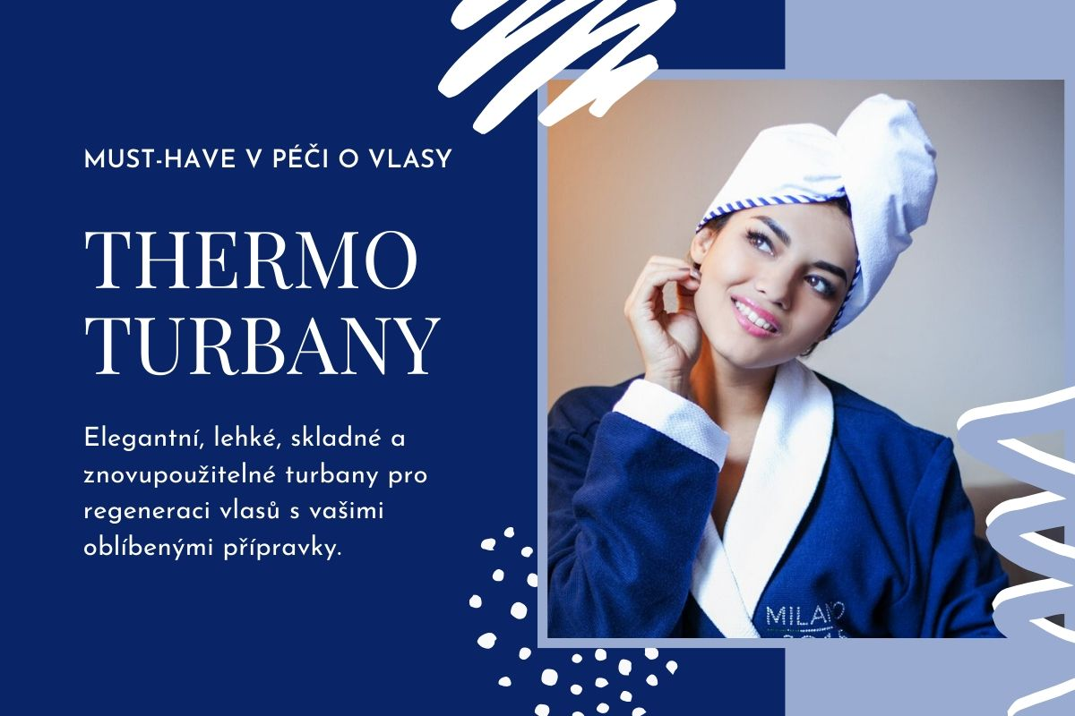 Thermo turbany na vlasy