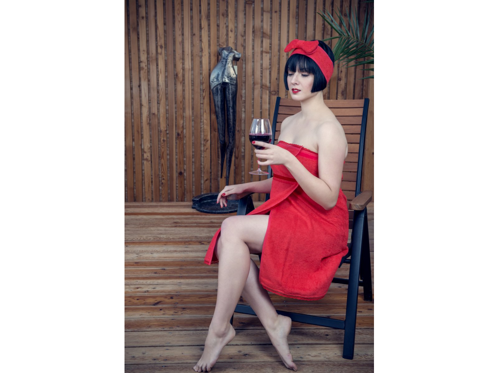 Crazy in Love: Luxusní červená kosmetická čelenka s mašlí od MaryBerry