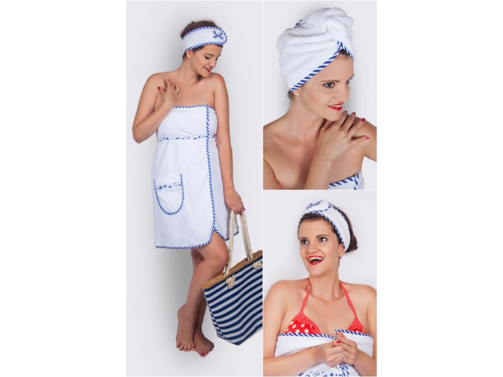 Námořnický dárkový wellness set pro ženy