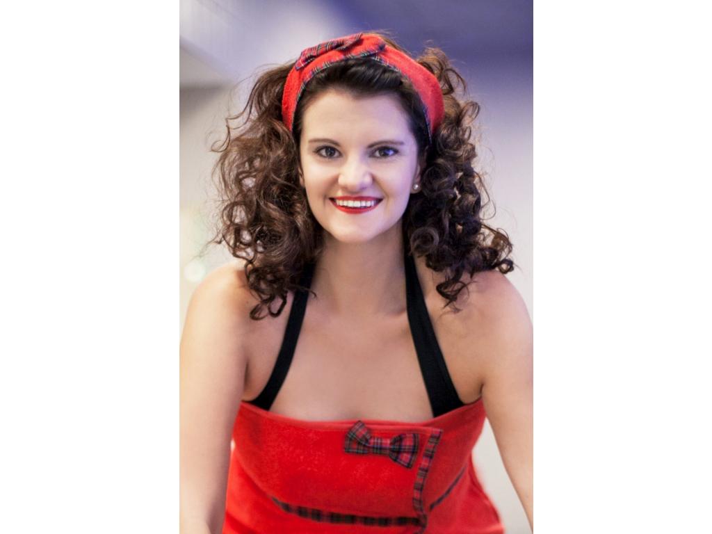 Rock'n'Roll Soul: Červená kosmetická čelenka se skotskou mašlí od MaryBerry