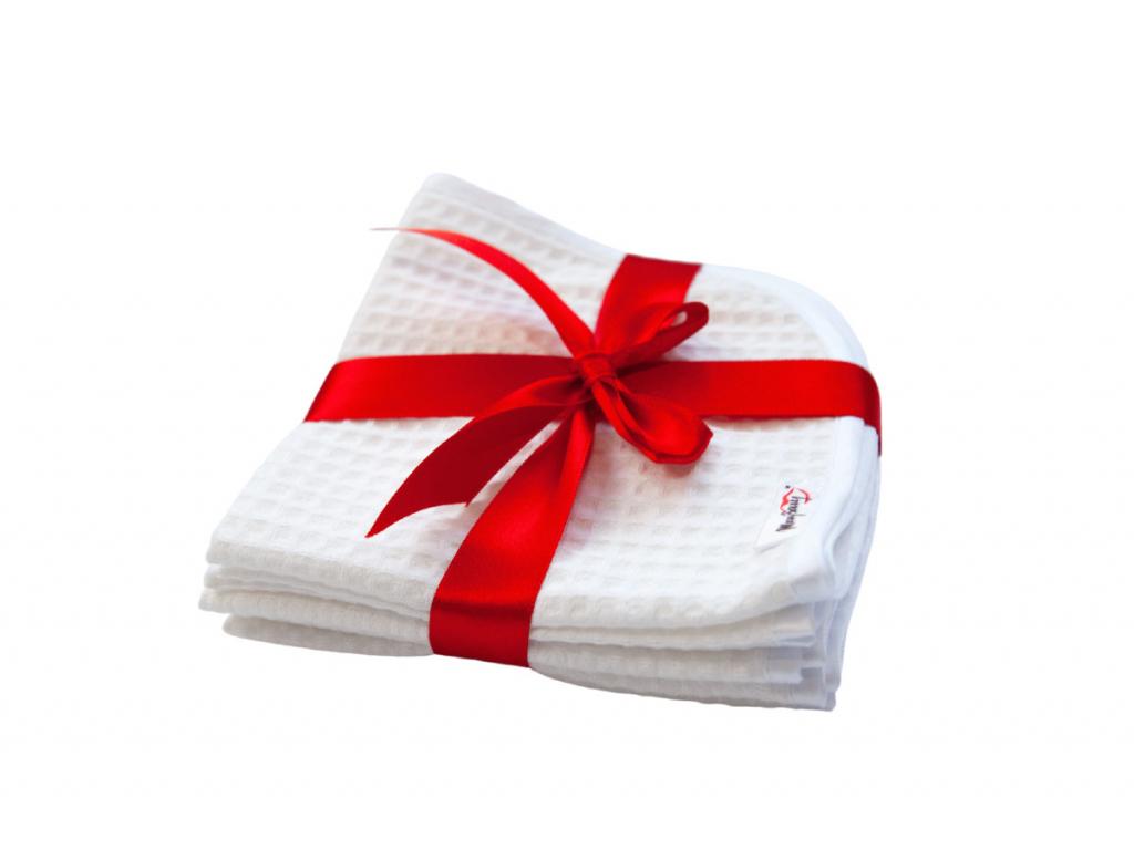 Sada malých ručníků na obličej ze 100% bavlny