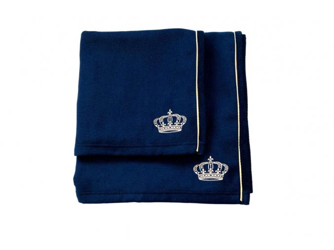 Osuška a ručník Royal in Blue – Golden Edition