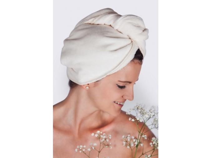 La Provence: Luxusní krémový turban na vlasy od MaryBerry