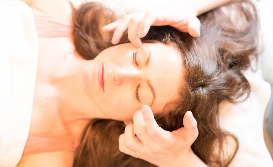 Marma masáž obličeje