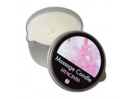 masazna sviecka hyacint