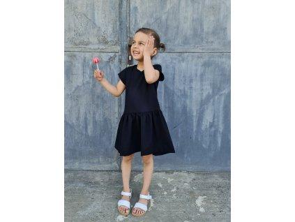 Dětské letní volánové šaty