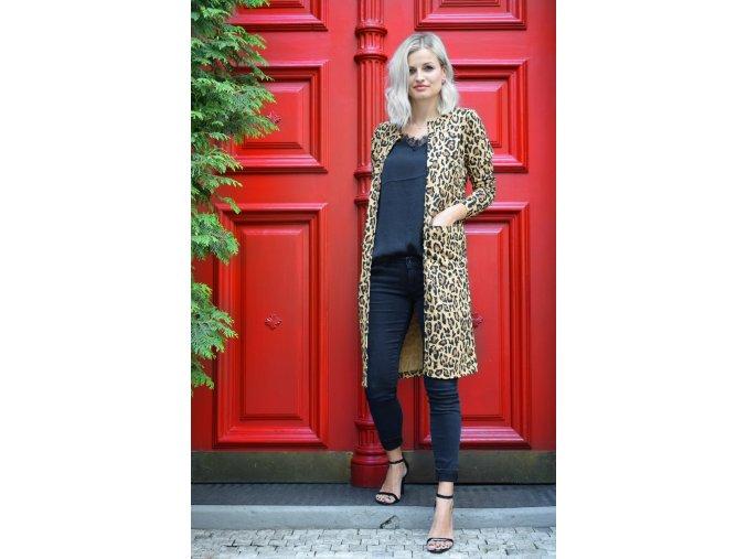 Kardigan - Leopard print