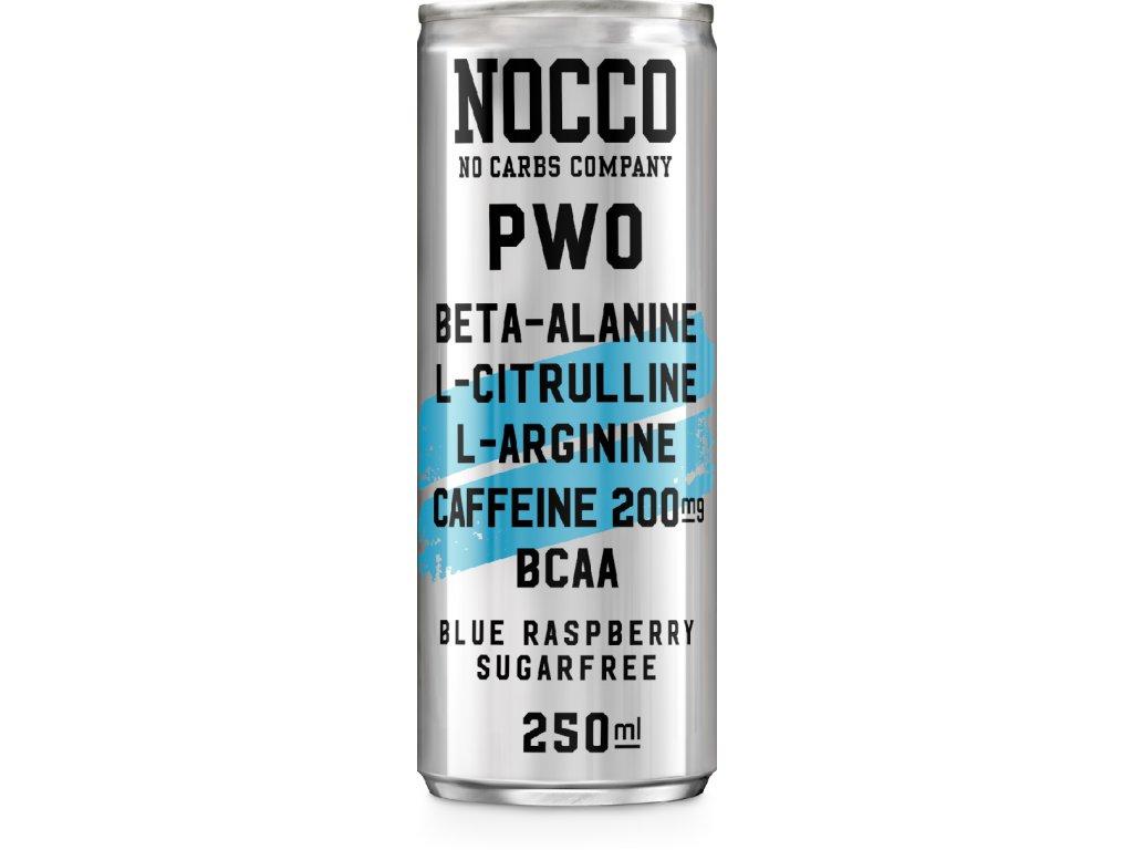 Nocco BCAA drink nápoj MasimSport BlueRaspberry
