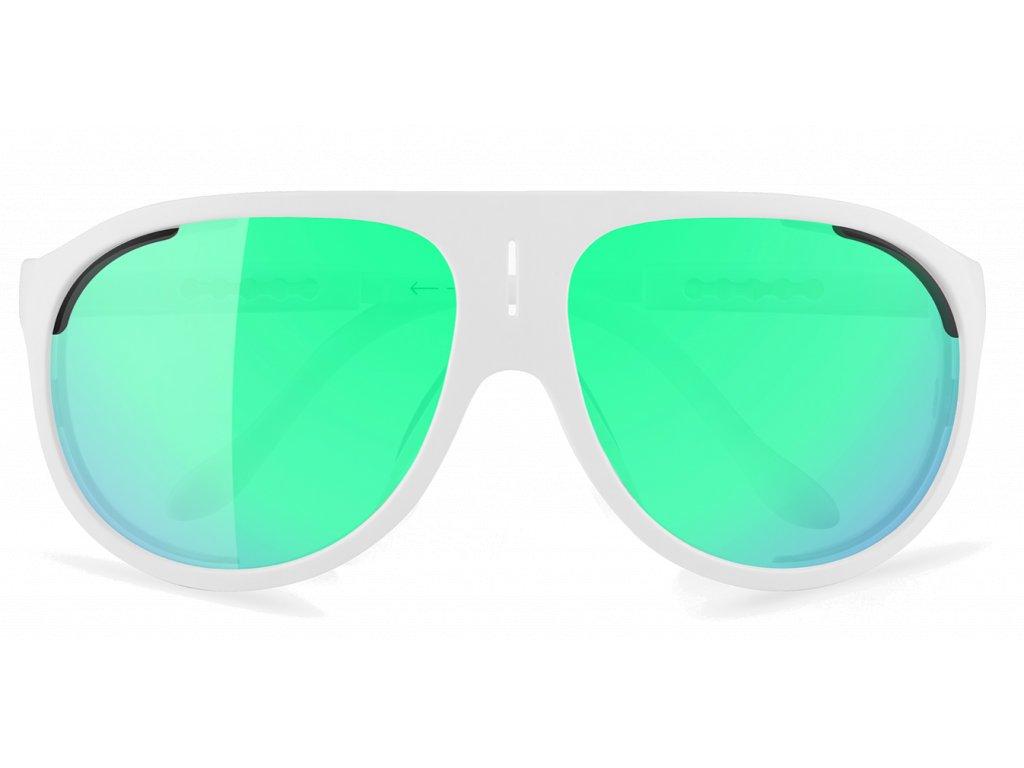 Alba Optics MasimSport Okuliare SOLO WHT VZUM F LENS BTL 1