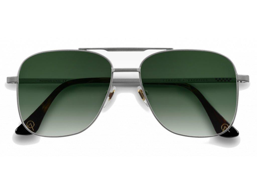 Alba Optics MasimSport Okuliare FERRO Silver GR Leaf