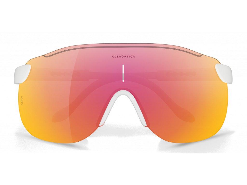 Alba Optics MasimSport Okuliare STRATOS WHT VZUM ML LAVA