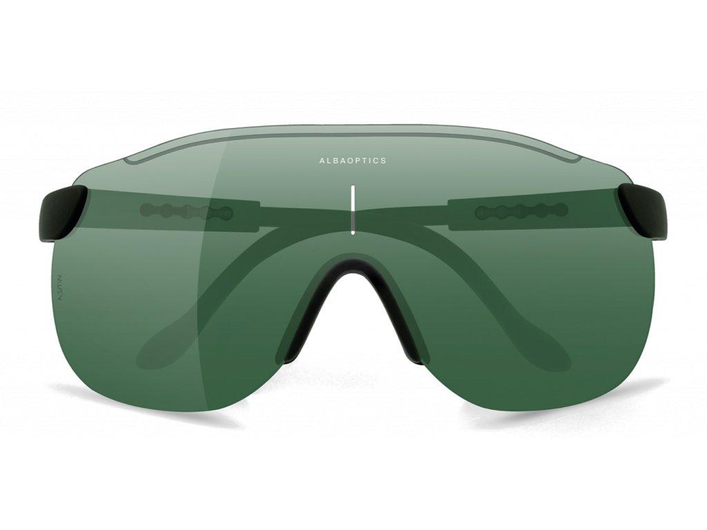 Alba Optics MasimSport Okuliare STRATOS BLK LEAF
