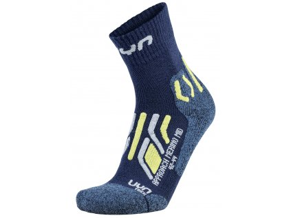 UYN Man Trekking Approach Merino Mid Socks
