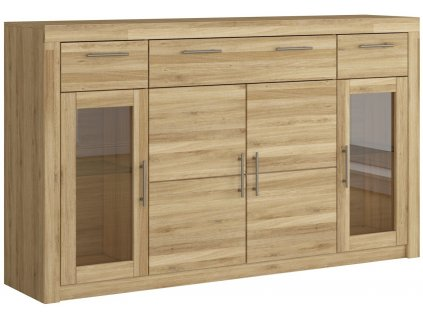 komoda highboard dub masiv