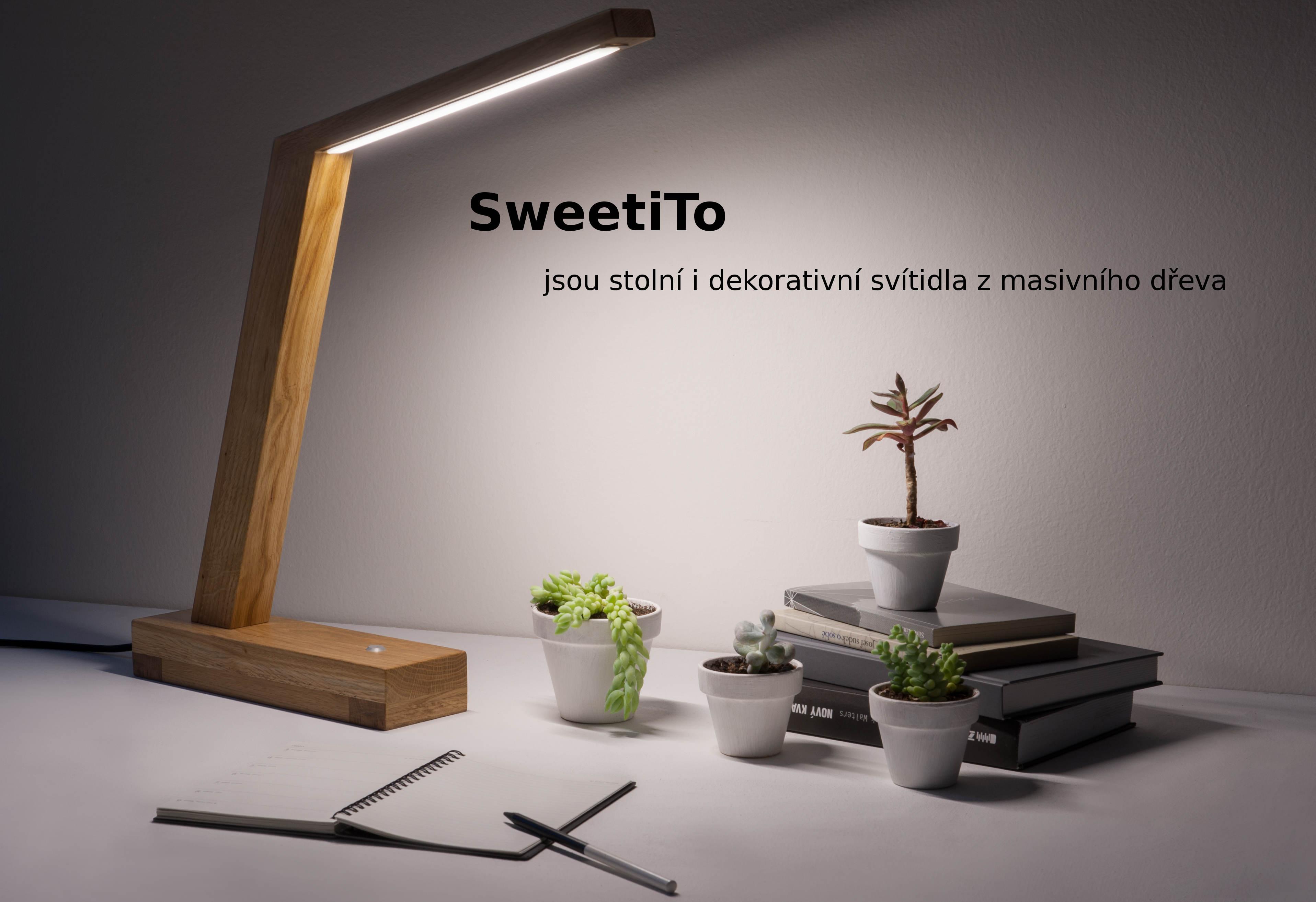 autorská dřevěná svítidla