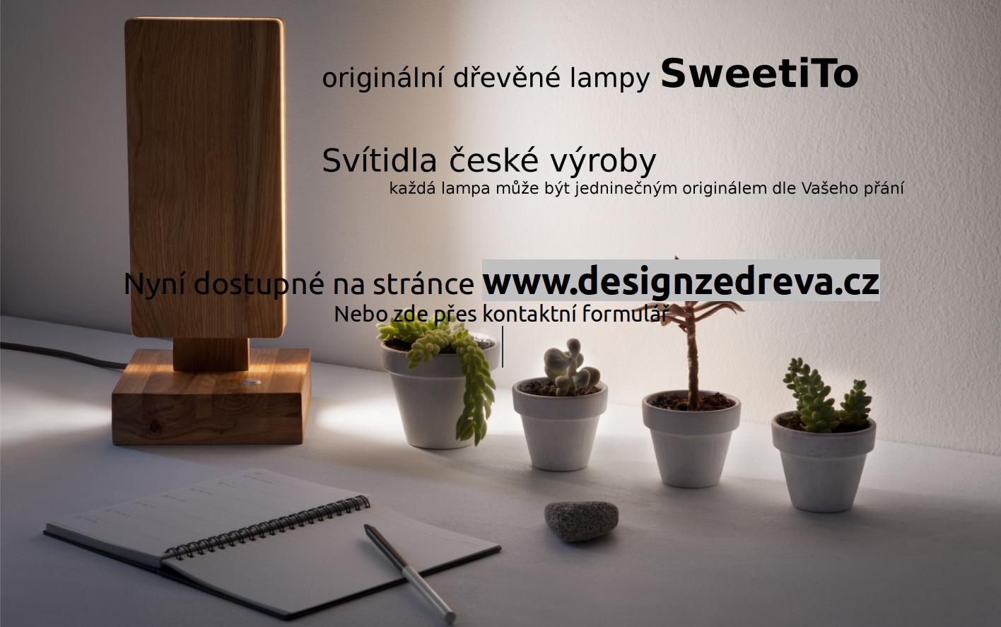 dřevěná svítidla SweetiTo