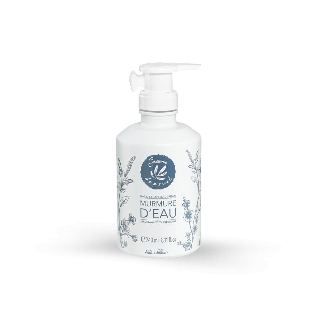 Francouzská přírodní kosmetika MURMURE D'EAU - čistící krém na ruce