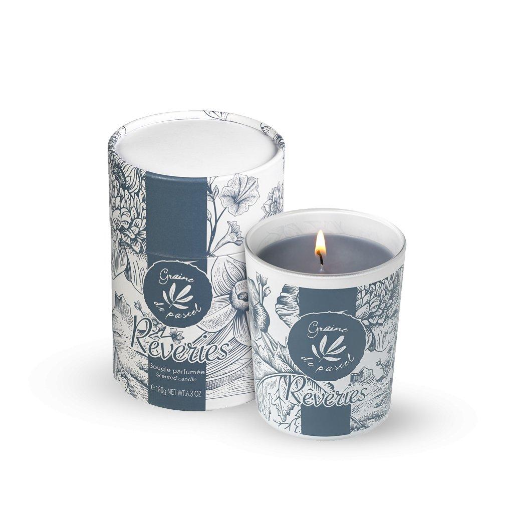 Francouzská přírodní kosmetika Rêveries - scented candle