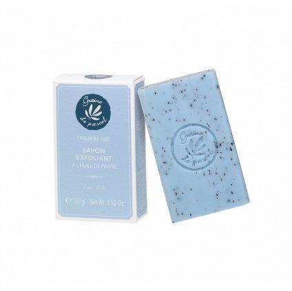 Francouzská přírodní kosmetika Exfoliační mýdlo
