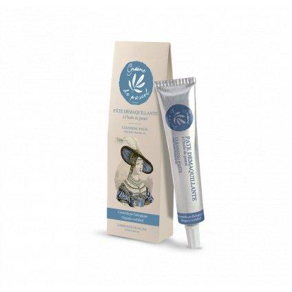 Francouzská přírodní kosmetika Organická čisticí pasta/organic cleansing paste,