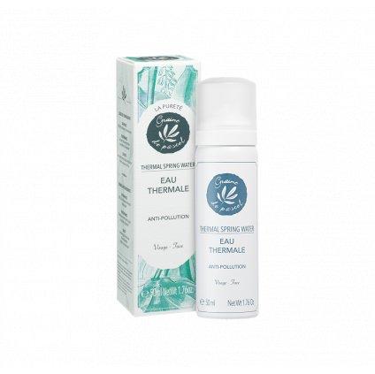 Francouzská přírodní kosmetika Osvěžující jarní voda, Thermal spring water