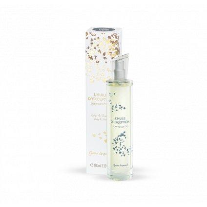 Francouzská přírodní kosmetika Tělový a vlasový olej, Sumptuous oi