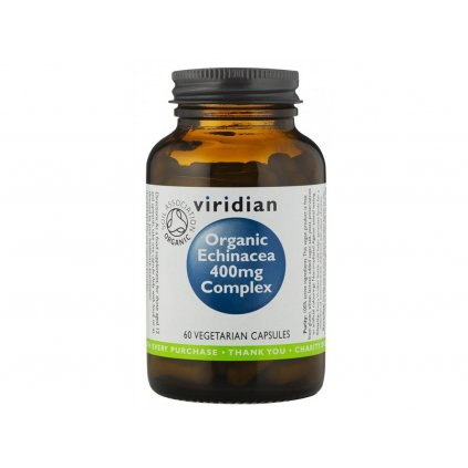 viridian echinacea complex organic na imunitu