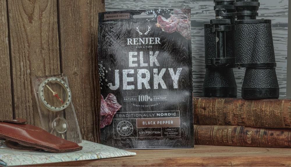 Taste the Scandinavian Wild Nature: The Story of Renjer Jerky