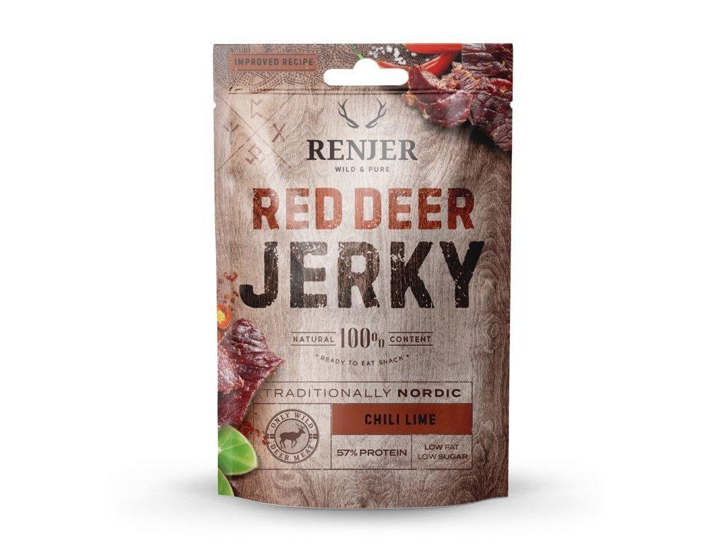 Renjer - Red Deer Jerky Lime & Chilli 25g