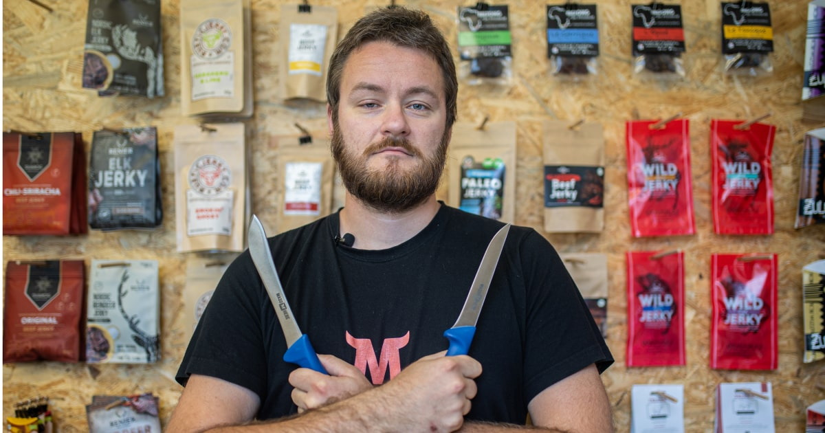 Rozhovor s Ondrou o nových nožích Maso Here