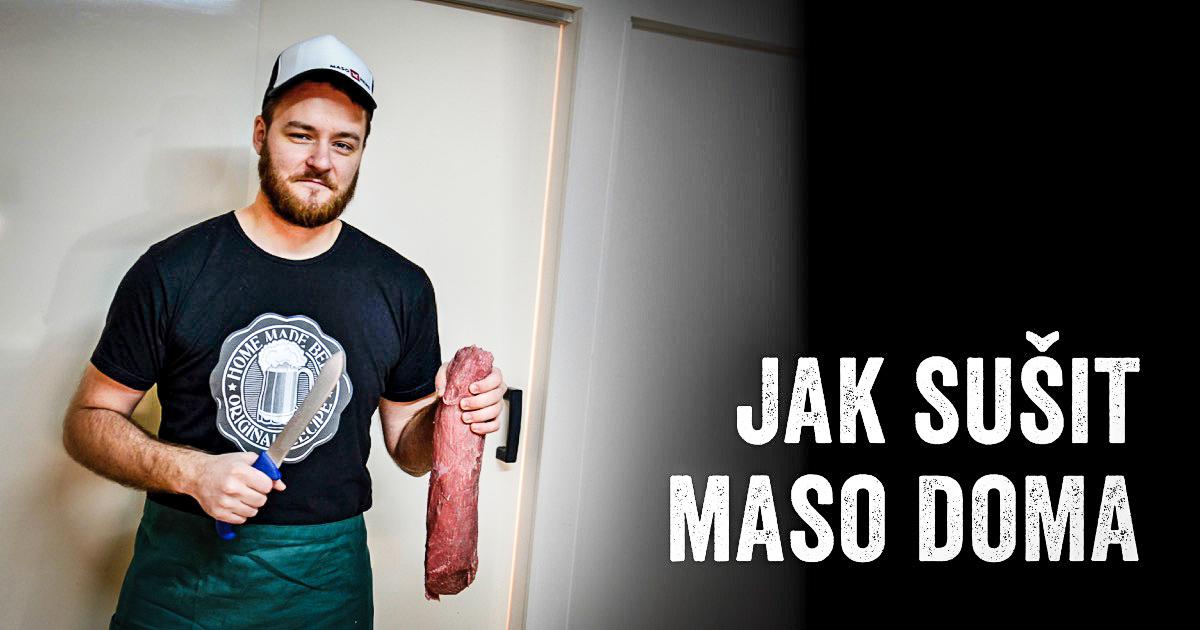 Jak sušit maso doma