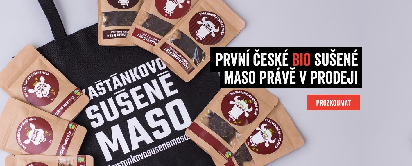 První BIO sušené maso v ČR