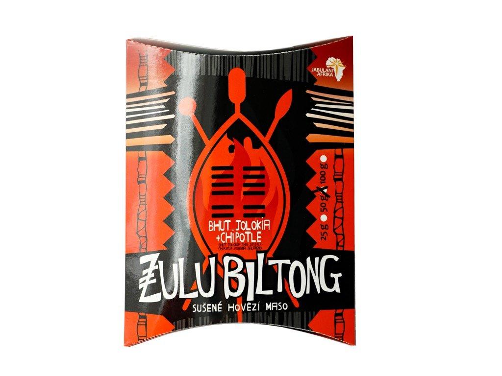 Zulu Biltong bhut jolokia