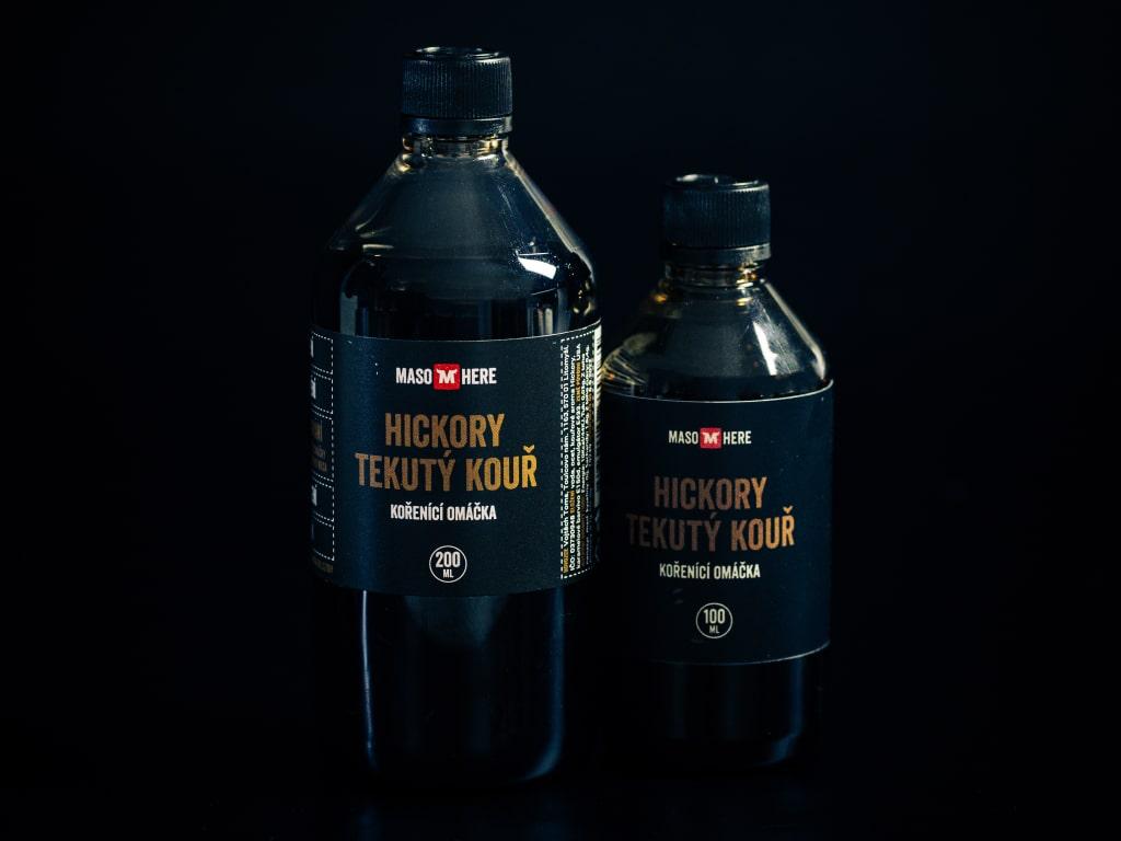 Levně Maso Here Tekutý kouř s aroma Hickory 200 ml
