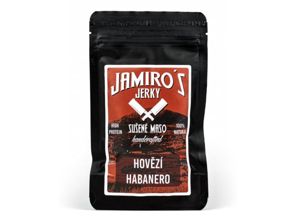 Levně Jamiro's - Hovězí jerky Habanero 50g