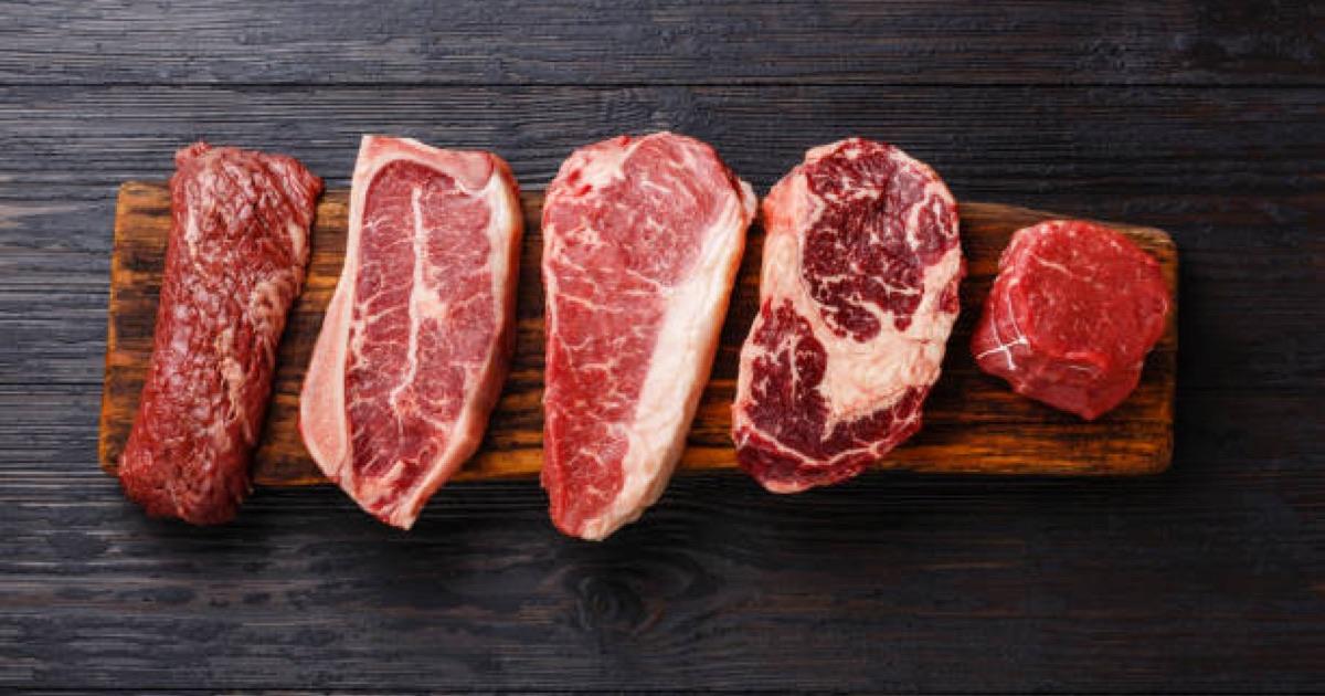 17 druhov mäsa, ktoré sa dajú použiť na prípravu sušeného mäsa