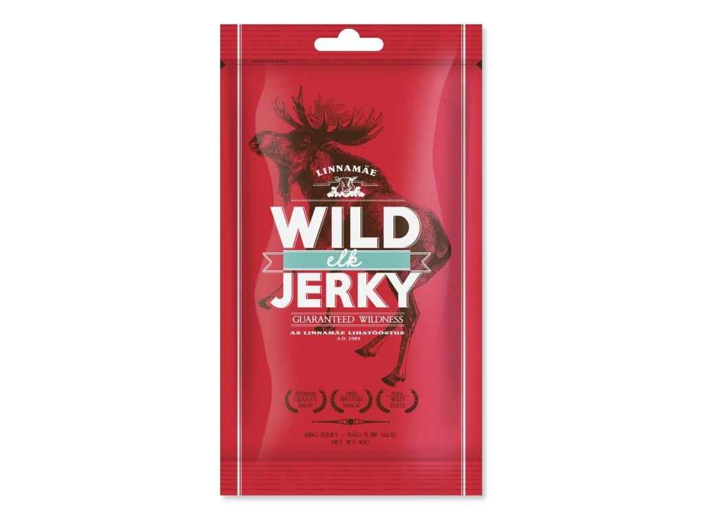 Linnamäe - Wild Jerky Losie 40g