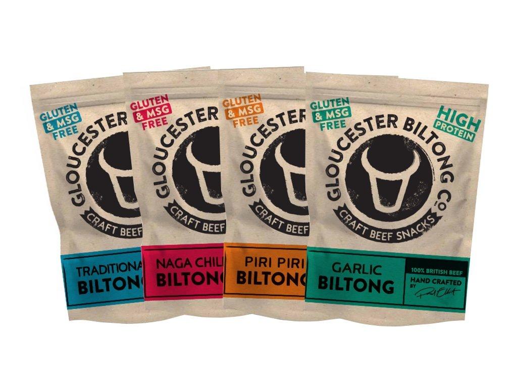 Gloucester Biltong Starter Pack 4 x 40 g