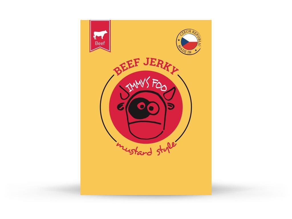 Jimmy's Food Jimmy's Jerky - Horčica 40g