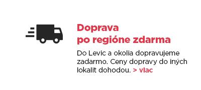 Doprava po regióne zdarma