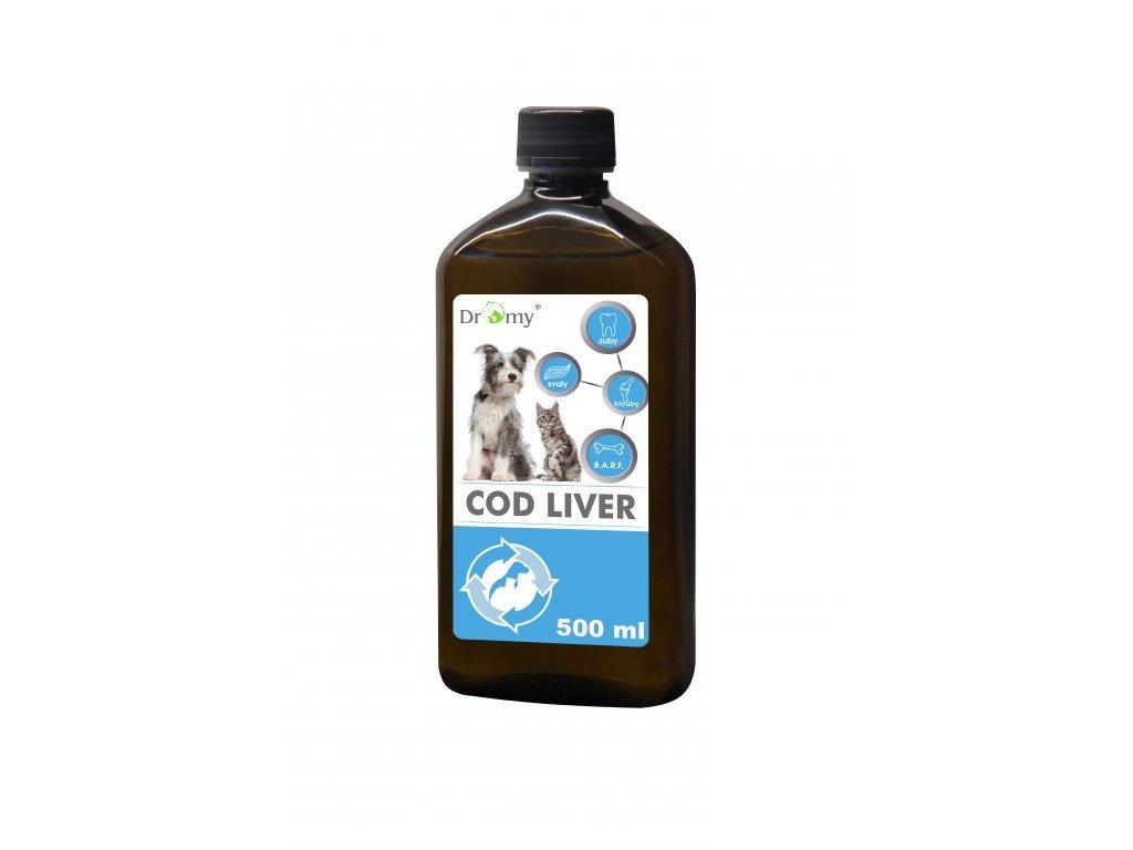 Olej z tresčích jater 500 ml